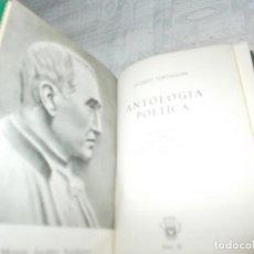 Libros de segunda mano: CRISOL Nº 87 ANTOLOGÍA POÉTICA. Lote 139694234