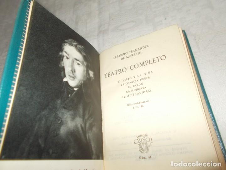 CRISOL Nº 44 TEATRO COMPLETO (Libros de Segunda Mano (posteriores a 1936) - Literatura - Narrativa - Otros)