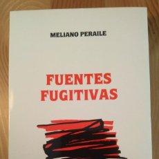Libros de segunda mano: MELIANO PERAILE / MELIANO PERAILE. PREMIO DE NOVELA CASINO DE MIERES, 1987. Lote 139945774