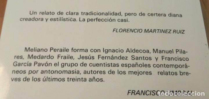Libros de segunda mano: Meliano Peraile / Meliano Peraile. Premio de Novela Casino de Mieres, 1987 - Foto 3 - 139945774