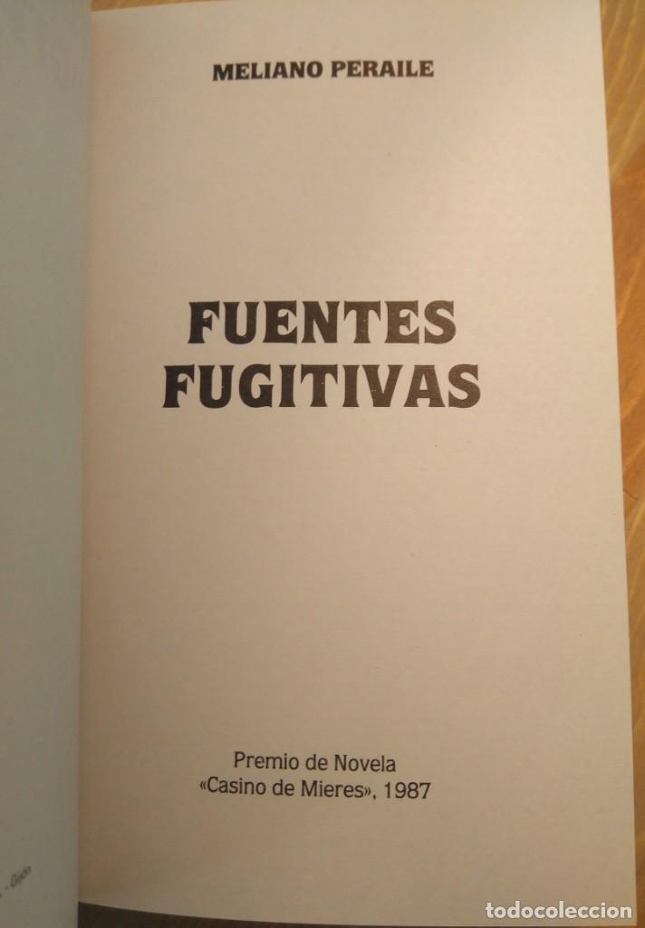 Libros de segunda mano: Meliano Peraile / Meliano Peraile. Premio de Novela Casino de Mieres, 1987 - Foto 5 - 139945774