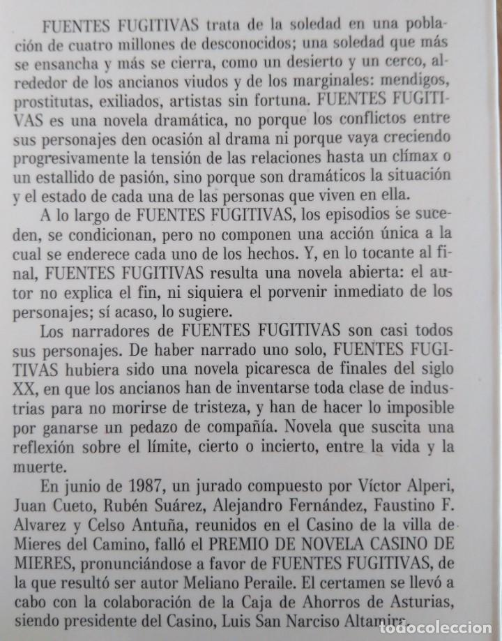 Libros de segunda mano: Meliano Peraile / Meliano Peraile. Premio de Novela Casino de Mieres, 1987 - Foto 8 - 139945774