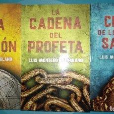 Libros de segunda mano: LOTE 3 LUIS MONTERO MANGLIANO LA MESA DEL REY SALOMON LA CIUDAD DEL PROFETA LA CIUDAD HOMBRES SANTOS. Lote 140341658