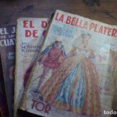 Libros de segunda mano: LA JUVENTUD DE ENRIQUE IV, PNSON DU TERRAIL, EDITORIAL TOR, 1950 VER DESCRIPCION. Lote 140354730