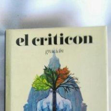 Libros de segunda mano: EL CRITICÓN BALTASAR GRACIAN. Lote 140647812