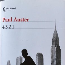 Libros de segunda mano: 4 3 2 1. PAUL AUSTER.. Lote 140659646