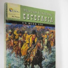 Libros de segunda mano: UN BUEN LIO MARCIAL LAFUENTE ESTEFANIA . Lote 140792050