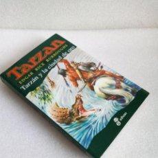Libros de segunda mano: NOVELA TARZAN, Nº 16: TARZAN Y LA CIUDAD DE ORO - EDGAR RICE BURROUGHS; ED. EDHASA SIN LEER. Lote 140895890