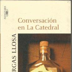 Livres d'occasion: MARIO VARGAS LLOSA. CONVERSACION EN LA CATEDRAL. ALFAGUARA. Lote 141107670