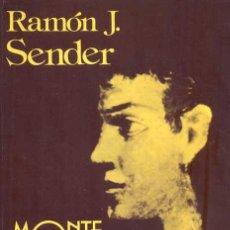 Libros de segunda mano: RAMÓN J. SENDER - MONTE ONDINA. Lote 141295066