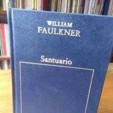 Libros de segunda mano: WILLIAM FAULKNER, SANTUARIO. Lote 141566342