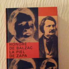 Libros de segunda mano: HONORÉ DE BALZAC: LA PIEL DE ZAPA DE EDITORIAL SIRUELA, 2004 . COMO NUEVO. Lote 141584434