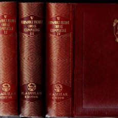 Libros de segunda mano: WENCESLAO FERNÁNDEZ FLÓREZ . OBRAS COMPLETAS - TOMOS I A IV (AGUILAR, 1946 - 1947). Lote 141893438