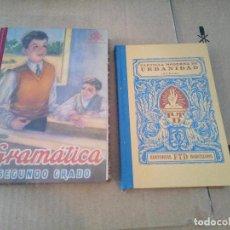 Libros de segunda mano: GRAMATICA SEGUNDO GRADO + CARTILLA MODERNA DE URBANIDAD 2007. Lote 142058538