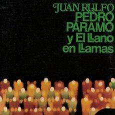 Livros em segunda mão: JUAN RULFO, PEDRO PÁRAMO Y EL LLANO EN LLAMAS. Lote 142650754
