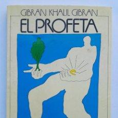 Libros de segunda mano: EL PROFETA GIBRAN KHALIL. Lote 143078222