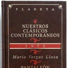 Libros de segunda mano: MARIO VARGAS LLOSA . PANTALEÓN Y LAS VISITADORAS. Lote 143157134