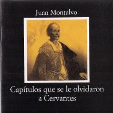 Libros de segunda mano: JUAN MONTALVO : CAPÍTULOS QUE SE LE OLVIDARON A CERVANTES. (EDICIÓN DE ÁNGEL ESTEBAN. ED. CÁTEDRA). Lote 143590346