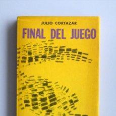 Libros de segunda mano: JULIO CORTAZAR // FINAL DEL JUEGO // 1965 // EDITORIAL SUDAMERICANA // INTONSO. Lote 143877206