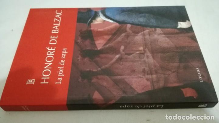 LA PIEL DE ZAPA / HONORE DE BALZAC / LOSADA (Libros de Segunda Mano (posteriores a 1936) - Literatura - Narrativa - Otros)