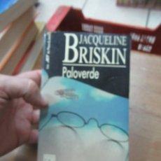 Libros de segunda mano: LIBRO PALOBERDE JACQUELINE BRISKIN 1990 PLAZA Y JANES L-10257-367. Lote 144245090