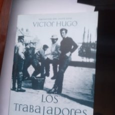 Libros de segunda mano: LOS TRABAJADORES DEL MAR VÍCTOR HUGO EL OLIVO AZUL. Lote 144434564