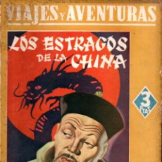 Libros de segunda mano: EMILIO SALGARI : LOS ESTRAGOS DE LA CHINA (MAUCCI, S.F.). Lote 145361302
