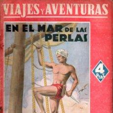 Libros de segunda mano: EMILIO SALGARI : EN EL MAR DE LAS PERLAS (MAUCCI, S.F.). Lote 145361394