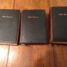 Libros de segunda mano: NOVELAS VICKI BAUM TOMOS II, III,IV. 1956. Lote 145836478