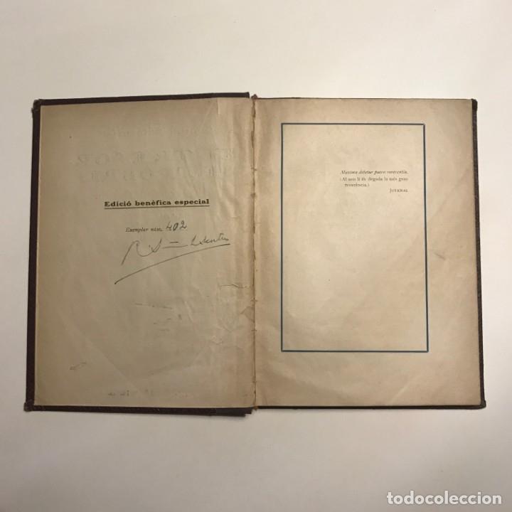 Libros de segunda mano: EL TRESOR DELS POBRES DE R. SURIÑACH SENTIÉS, 1921 autografo numerado - Foto 3 - 146832034