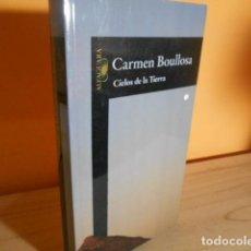 Libros de segunda mano: CIELOS DE LA TIERRA / CARMEN BOULLOSA. Lote 213994178