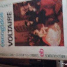 Libros de segunda mano: CUENTOS ESCOGIDOS DE VOLTAIRE. EDITORIAL BRUGUERA. Lote 147450682