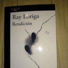 Libros de segunda mano: REDENCION RAY LORIGA ALFAGURA CONTEMPORANEA . Lote 147494566