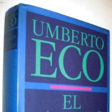 Libros de segunda mano: EL PENDULO DE FOUCAULT - UMBERTO ECO - ENE. Lote 147506734