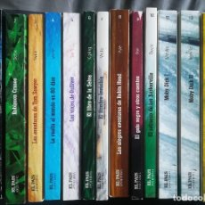 Libros de segunda mano: COLECCIÓN COMPLETA NOVELA AVENTURAS - EL PAÍS. Lote 147699258