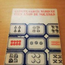 Libros de segunda mano: CIEN AÑOS DE SOLEDAD (GABRIEL GARCÍA MÁRQUEZ) EDITORIAL SUDAMERICANA. Lote 147731202