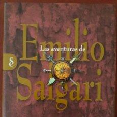 Libros de segunda mano: LAS AVENTURAS DE EMILIO SALGARI. LOS NÁUFRAGOS DEL OREGÓN. TAPA DURA CON SOBRECUBIERTA.. Lote 148184486