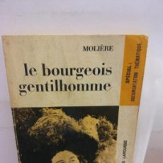 Libros de segunda mano: STQ.MOLIERE.LE BOURGEOIS GENTILHOMME.EDT, LAROUSSE.BRUMART TU LIBRERIA.. Lote 148186510