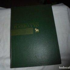 Libros de segunda mano: PLATERO Y YO.JUAN RAMON JIMENEZ.EDICIONES NAUTA 1964 BARCELONA 1964.ILUSTRACIONES BENJAMIN PALENCIA. Lote 148639718