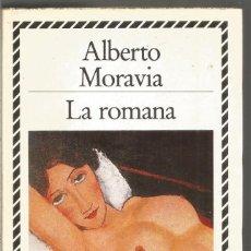 Libros de segunda mano: ALBERTO MORAVIA. LA ROMANA. CIRCULO DE LECTORES BIBLIOTECA PLATA. Lote 148990858