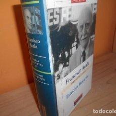 Libros de segunda mano: OBRAS COMPLETAS III / FRANCISCO AYALA / GALAXIA GUTENBERG. Lote 149352974
