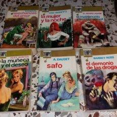 Libros de segunda mano: LIBRO. COLECCIÓN TIEMPO, EDITORIAL FERMA. 1966 Y 1967. LOTE 6 DIFERENTES. MUY BUEN ESTADO. Lote 149407262