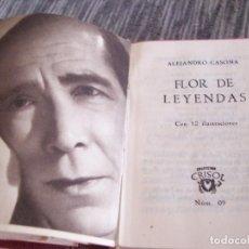 Libros de segunda mano: FLOR DE LEYENDAS, DE ALEJANDRO CASONA - CRISOLIN NM 9 COLECCION CRISOL AGUILAR. Lote 149445746