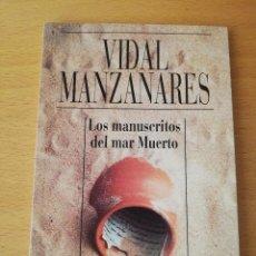 Libros de segunda mano: LOS MANUSCRITOS DEL MAR MUERTO (VIDAL MANZANARES) ALIANZA CIEN. Lote 149695890