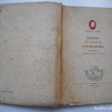 Libros de segunda mano: ENRIQUE HEINE MEMORIAS DEL SEÑOR DE SCHNABELEWOPSKI Y92392. Lote 150350950