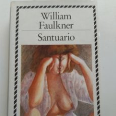 Libros de segunda mano: SANTUARIO/WILLIAM FAULKNER. Lote 150448462