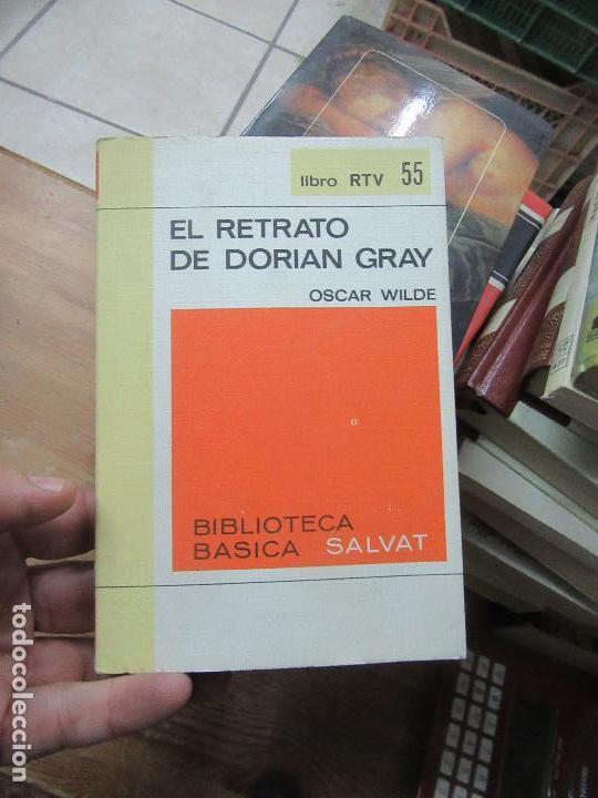 LIBRO EL RETRATO DE DORIAN GRAY O. WILDE 1970 RTV Nº 55 L-18041 (Libros de Segunda Mano (posteriores a 1936) - Literatura - Narrativa - Otros)