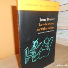 Libri di seconda mano: LA VIDA SECRETA DE WALTER MITTY / JAMES THURBER. Lote 150997954