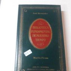 Libros de segunda mano: MARTIN FIERRO . Lote 151348574