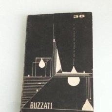 Libros de segunda mano: DINO BUZZATI - CUENTOS - CLUB DEL LIBRO DE RADIO SARANDÍ Nº 38 - 1979. Lote 151630062